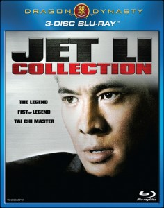 """Jet Li Collection"" Blu-ray Cover"