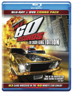 Gone in 60 Seconds (1974) Blu-ray & DVD (Anderson Merchandise)