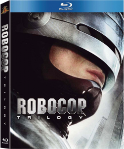 """RoboCop Trilogy"" Blu-ray Cover"