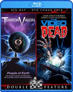 Double Feature: Terror Vision and The Video Dead Blu-ray & DVD (Shout! Factory)