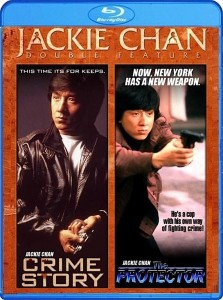 Jackie Chan Double Feature: Crime Story & The Protector Blu-ray & DVD (Shout! Factory)