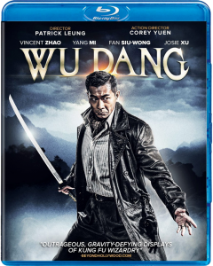 """Wu Dang"" Blu-ray Cover"