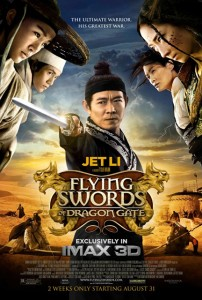 """Flying Swords of Dragon Gate"" Theatrical Poster"