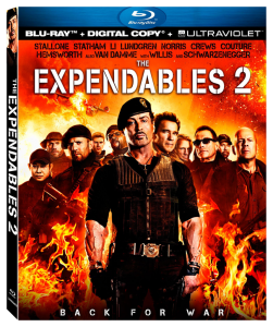 """The Expendables 2"" Blu-ray Cover"