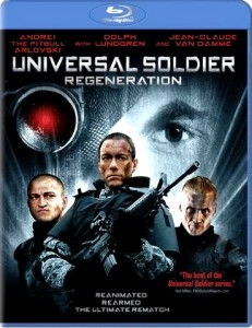 """Universal Soldier: Regeneration"" Blu-ray Cover"