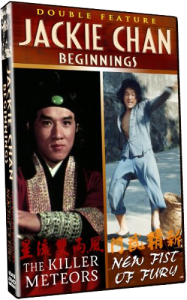 Jackie Chan Beginnings Double Feature: Killer Meteors & New Fist of Fury DVD (Shout! Factory)