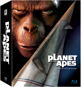 """Planet of the Apes 5-Film"" Blu-ray Set Cover"