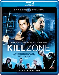 """Kill Zone"" Blu-ray Cover"