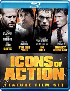 """""""Icons of Action"""" Blu-ray Cover"""