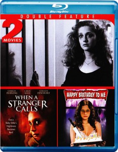 Double Feature: When a Stranger Calls & Happy Birthday to Me Blu-ray (Mill Creek)