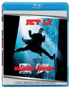 """Black Mask"" Blu-ray Cover"