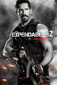 "Scott Adkins's ""The Expendables 2"" Character Poster"