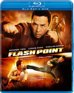 """Flash Point"" Blu-ray Cover"