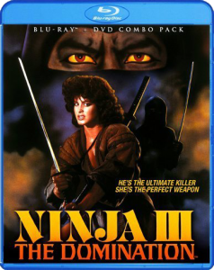 """Ninja III: The Domination"" Blu-ray Cover"