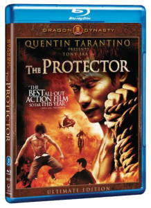 """The Protector"" (aka Tom Yum Goong) Blu-ray Cover"