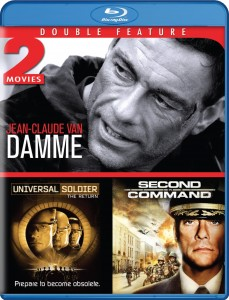 Double Feature: Universal Soldier: The Return & Second in Command Blu-ray (Mill Creek)