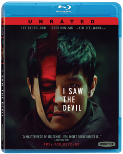 """I Saw The Devil"" Blu-ray Cover"