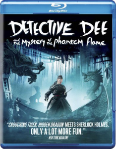"""Detective Dee and the Mystery of the Phantom Flame"" Blu-ray Cover"