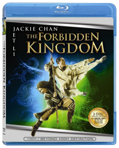 """The Forbidden Kingdom"" Blu-ray Cover"