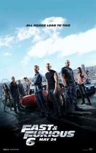"""Fast and Furious 6"" Theatrical Poster"