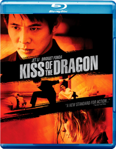 """Kiss of the Dragon"" Blu-ray Cover"