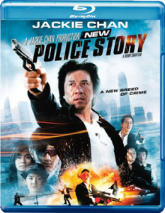 """New Police Story"" Blu-ray Cover"