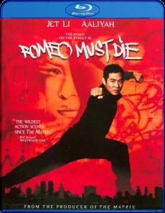 """""""Romeo Must Die"""" Blu-ray Cover"""