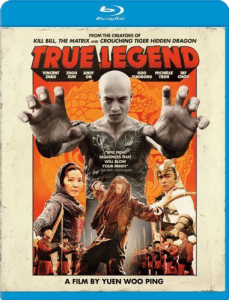 """True Legend"" Blu-ray Cover"
