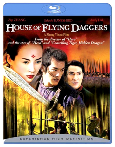 """House of Flying Daggers"" Blu-ray Cover"