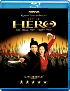 """Hero"" Blu-ray Cover"