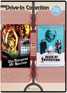 Drive-In Double Feature: The Dungeon of Harrow & Death By Invitation DVD (Vinegar Syndrome)