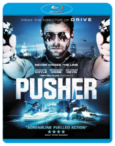"""Pusher"" Blu-ray Cover"
