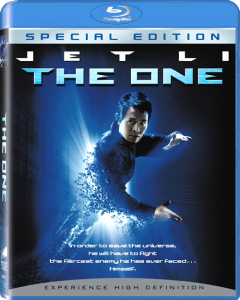 """The One"" Blu-ray Cover"