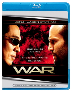 """War"" Blu-ray Cover"