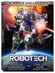 """Robotech: 2-Movie Collection"" DVD Cover"