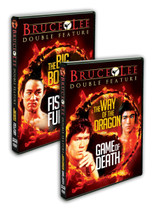 """Bruce Lee Double Feature"" Shout! Factory DVD Covers"