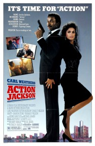 """Action Jackson"" Theatrical Poster"