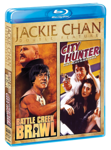"""Jackie Chan Double Feature"" Blu-ray Cover"