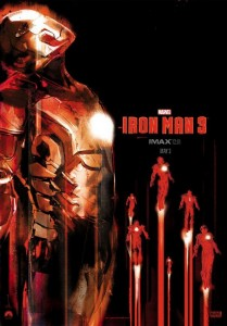 """Iron Man 3"" IMAX Theatrical Poster"