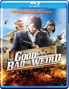 """""""The Good, the Bad, the Weird"""" Blu-ray Cover"""