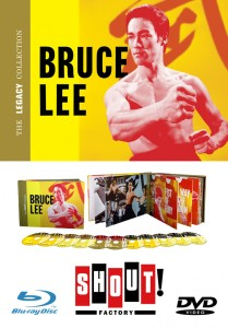 """Bruce Lee: The Legacy Collection"" Blu-ray and DVD Box Set"
