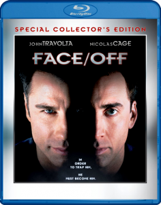 """Face/Off"" Blu-ray Cover"