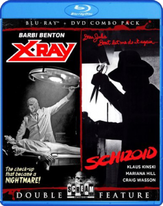 X-Ray & Schizoid Double Feature | Blu-ray & DVD (Shout! Factory)