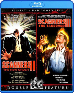 Double Feature: Scanners II & III | Blu-ray & DVD (Shout! Factory)