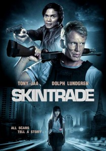 """Skin Trade"" Promotional Poster"