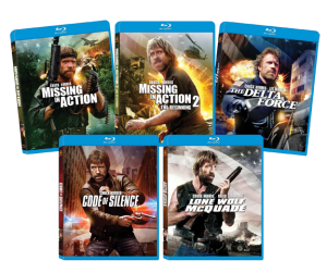 """Ultimate Chuck Norris Bundle"" on Blu-ray"