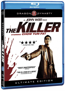 """The Killer: Ultimate Edition"" Blu-ray Cover"