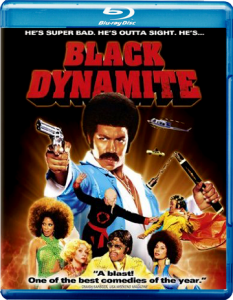 """Black Dynamite"" Blu-ray Cover"