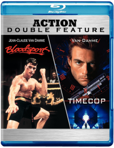 """Bloodsport & Timecop"" Blu-ray Cover"