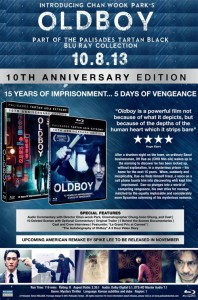 Old Boy: 10th Anniversary | Blu-ray (Palisades Tartan)